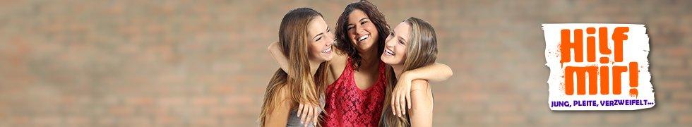 3 Mädchen umarmen sich